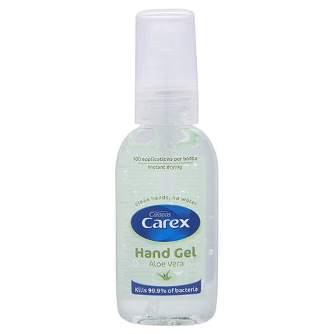Carex Hand Gel Aloe Vera (50ml)