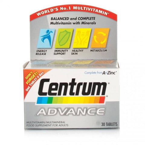 Centrum Advance A To Zinc (100 Tablets)