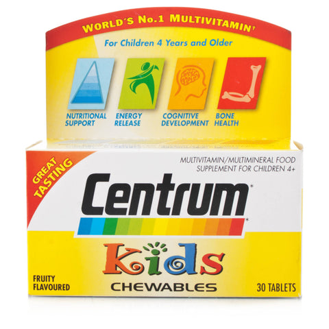 Centrum Kids Multivitamin Tabs (30 Tablets)