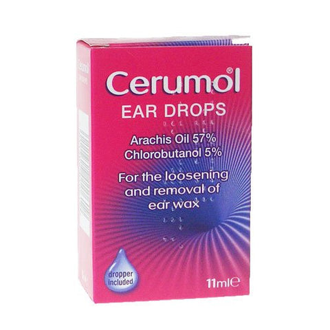 Cerumol Ear Drops (11ml Bottle)