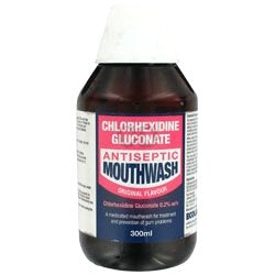 Chlorhexidine Original Aniseed Flavoured Mouthwash (300ml Bottle)