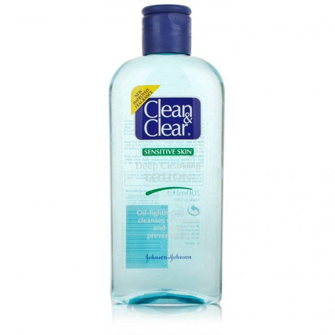 Clean & Clear Cleansing Lotion Sensitive (200ml)