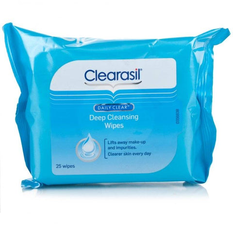 Clearasil Daily Clear Deep Cleansing Wipes (25 Wipes)