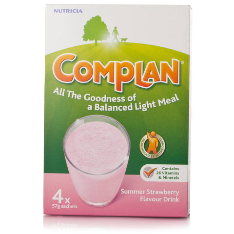 Complan Strawberry (4X57g Sachets)