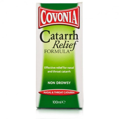 Covonia Catarrh Relief Formula - Non Drowsy (100ml Bottle)