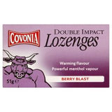 Covonia Double Impact Lozenges Berry Blast Flavour (51g)