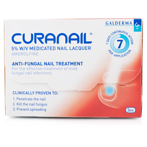 Curanail 5% w/v Medicated Nail Lacquer (3ml)