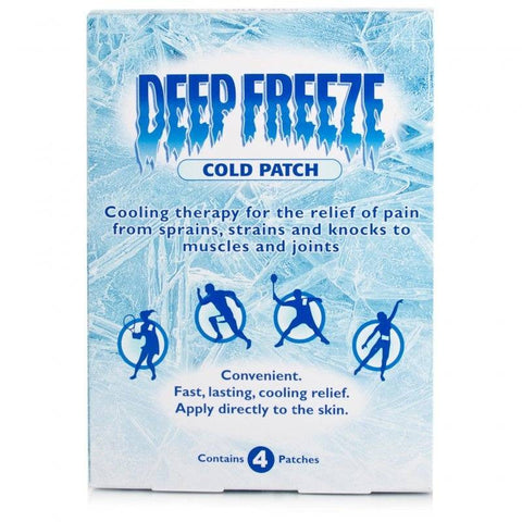 Deep Freeze Cold Patch (Pack Of 4)