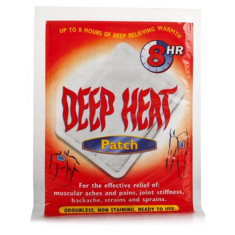 Deep Heat Patches (1 Patch)