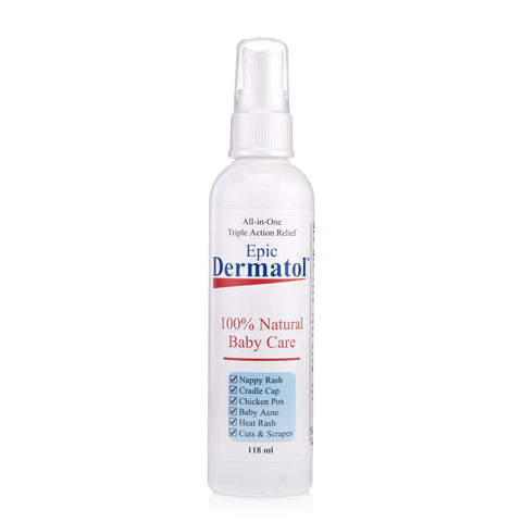 Dermatol Natural Baby Care Spray (118ml)
