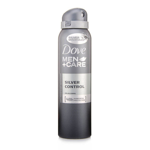 Dove Men+Care Silver Control Anti-Perspirant Deodorant Spray (150ml)