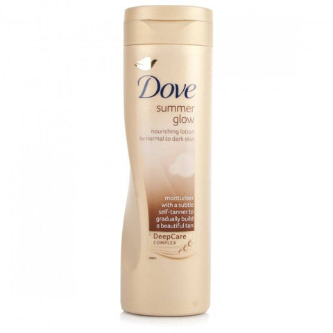 Dove Summer Glow Body Normal To Dark Skin Lotion (250ml)