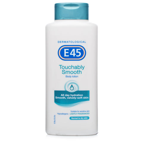 E45 Touchably Smooth Lightly Fragranced Body Lotion (400ml)
