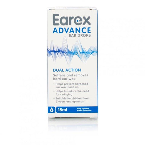 Earex Advance Ear Drops (15ml Bottle)