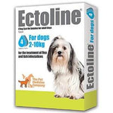 Ectoline Spot On for SMALL DOGS 2-10kg (4 Pipettes)