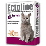 Ectoline Spot On Cat – Above 1kg (4 Pipettes)