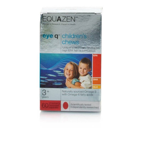 Equazen Eye Q Chews Strawberry Flavoured (60 Tablets)