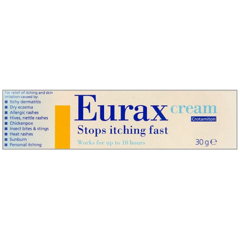 Eurax Cream (30g Tube)