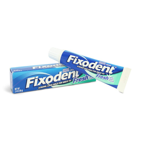 Fixodent Fresh Denture Adhesive (40ml/47g Tube)