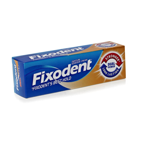 Fixodent Dual Power Denture Adhesive (40g Tube)