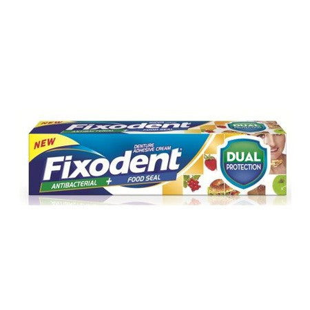 Fixodent Plus Dual Protection Denture Adhesive (40g Tube)