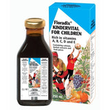 Floradix Kindervital Multivitamin Liquid For Children Original Flavour (250ml Bottle)