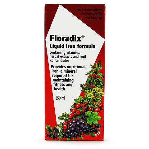 Floradix Liquid Iron Formula (250ml Bottle)