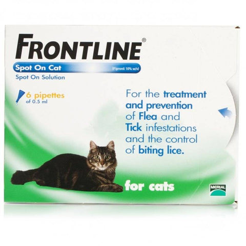 FRONTLINE Spot On Cat (6 Pipettes)