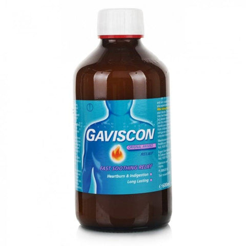 Gaviscon Original Aniseed Liquid Relief (600ml Bottle)