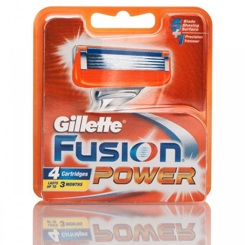 Gillette Fusion Power Blades (4 Blades)
