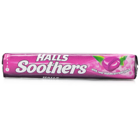 Halls Soothers Blackcurrant (10 Lozenges)