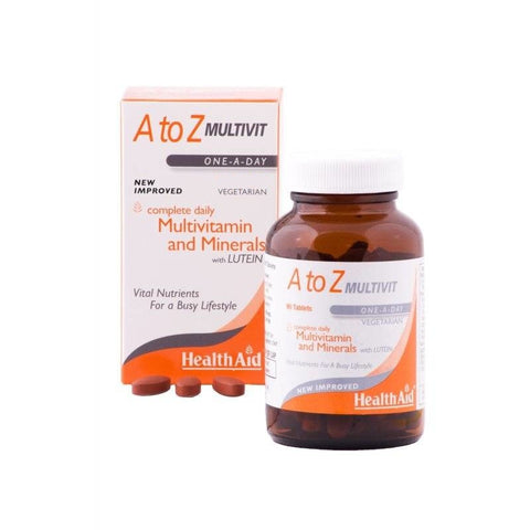 HealthAid A to Z Multivit (30 Tablets)