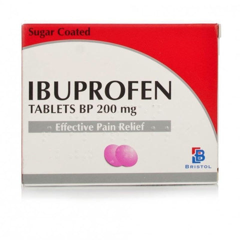 Ibuprofen Tablets 200mg (84 Tablets)