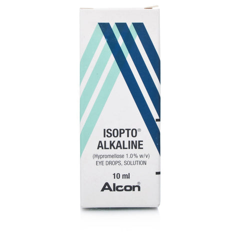 Isopto Alkaline Hypromellose Eye Drops 1.0% (10ml Dropper Bottle)