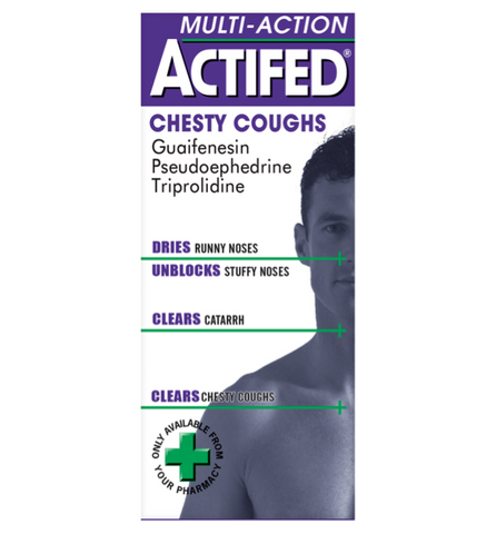 Actifed Multi-Action Chesty Coughs (100ml)