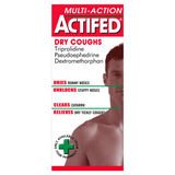 Actifed Mutli-Action Dry Coughs (100ml)