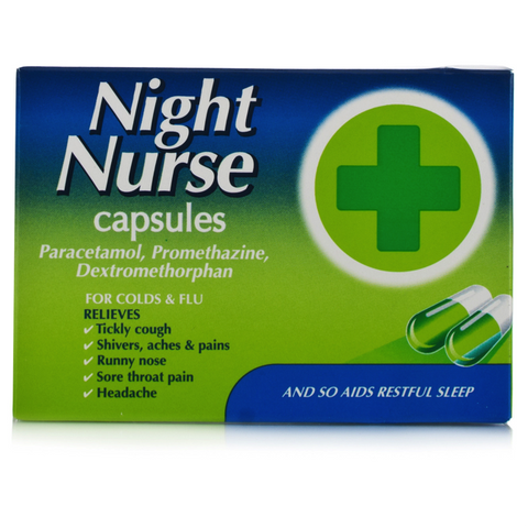 Night Nurse Capsules (10 Capsules)