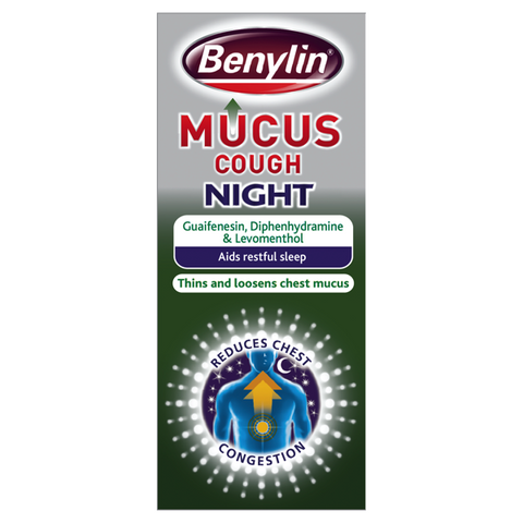 Benylin Mucus Cough Night (150ml)