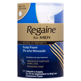 Regaine For Men Extra Strength Scalp Foam (3 x 73ml)