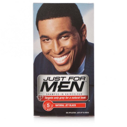 Just For Men Shampoo-In Hair Colour - Jet Black (1 Application)