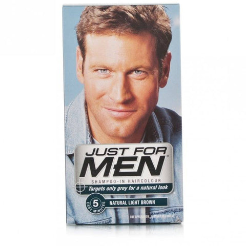 Just For Men Shampoo-In Hair Colour - Light Brown (1 Application)