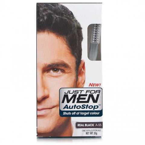 Just For Men Autostop Hair Colour - A-55 Real Black (35g)