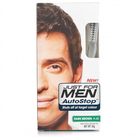 Just For Men Autostop Hair Colour - A-45 Dark Brown (35g)