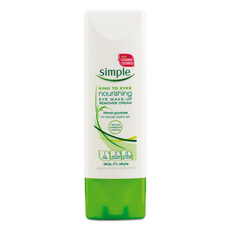 Simple – Kind To Eyes Nourishing Eye Make-Up Remover Cream (100ml)