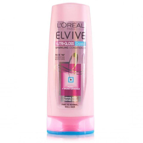 L'Oreal Elvive Nutri-Gloss Crystal Conditioner (250ml)