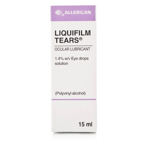 Liquifilm Tears Eye Drops (15ml Dropper Bottle)