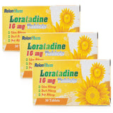 3 MONTHS SUPPLY of Loratadine Non Drowsy Hay-Fever/Allergy Relief Tablets 10mg (90 Tablets)