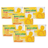 6 MONTH SUPPLY of Loratadine Non Drowsy Hay-Fever/Allergy Relief Tablets 10mg (180 Tablets)