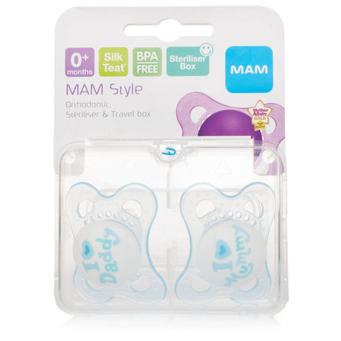 Mam Style 0+ Month Soother Boys