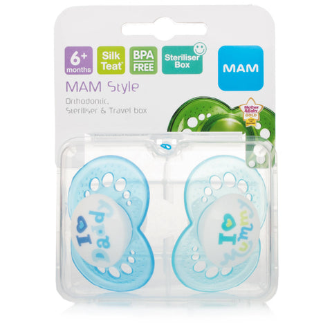 Mam 6+ Month Soother Boys
